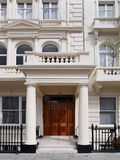 London apartment building Royalty Free Stock Photography
