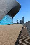LONDON - APRIL 5. The Aquatics Centre Stock Photo