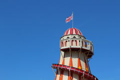LONDON - APRIL 5. A Helter Skelter on April 5, 2014 Stock Photography