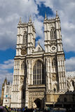 LONDON - April 14, 2014: Westminster Abbey is a large, mainly Go Stock Photo