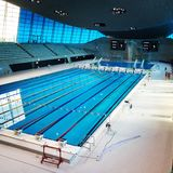 London Aquatic Centre Stock Images