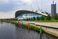 London Aquatics Centre Royalty Free Stock Photo