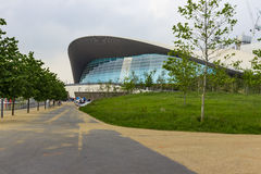 London Aquatics Centre Stock Photos