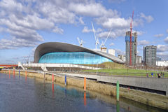 London Aquatics Centre Royalty Free Stock Image