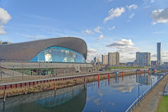 London Aquatics Centre Royalty Free Stock Images
