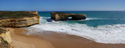 London Arch (former London Bridge), Great Ocean Road Stock Photo