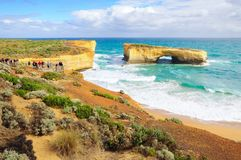 London Arch in Great Ocean Road route, Melbourne, Australia Stock Photo