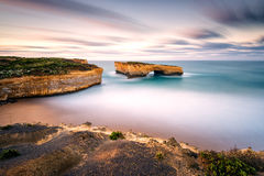 London Arch. Great Ocean Road, Victoria, Australia Royalty Free Stock Photo