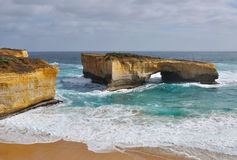 London Arch in Great Ocean Road Royalty Free Stock Photo