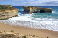 London Arch, Great Ocean Road Stock Images