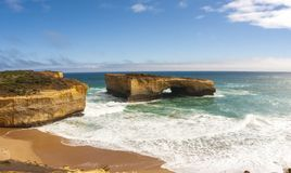 London Arch near Great Ocean Road , Port Campbell National Park, Australia royalty free stock photo