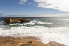 London Arch near Great Ocean Road , Port Campbell National Park, Australia stock image