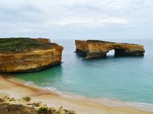 London Arch in the Port Campbell National Park Royalty Free Stock Image