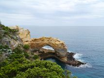 London Arch in the Port Campbell National Park Stock Photos