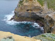 London Arch in the Port Campbell National Park Royalty Free Stock Images