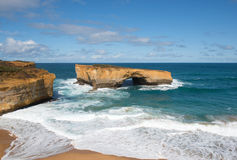 London Arch, Port Campbell National Park, Victoria, Australia Stock Photos