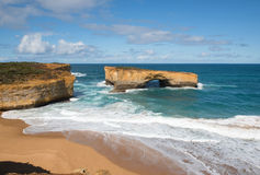 London Arch, Port Campbell National Park, Victoria, Australia Stock Image