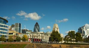 London architecture. London view from the Tower of London Stock Photography