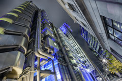 London Architecture. In the late evening Stock Photography