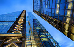 London Architecture. In the late evening Royalty Free Stock Photos