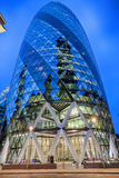 London Architecture. In the late evening Stock Images