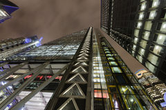 London Architecture. In the late evening royalty free stock image