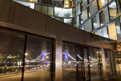 London Architecture. In the late evening Royalty Free Stock Photography