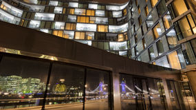 London Architecture. In the late evening Royalty Free Stock Images
