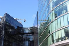 London. Architecture - modern glass building Stock Photography