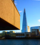 London architecture old and new with the Shard Stock Photos