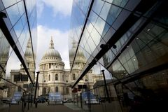 London Architecture, st pauls royalty free stock photography