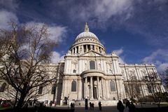 London Architecture, st pauls Stock Photos
