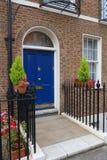 London architecture. Style, UK - beautiful Georgian front door royalty free stock photos