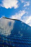 London-Architektur - Geb?ude - Farbblau lizenzfreie stockfotografie