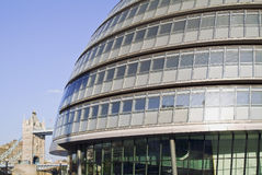 The London assembly building Royalty Free Stock Photos
