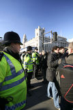 London-Aufstände Stockbilder