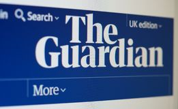 Free LONDON - AUG 2019: The Guardian Newspaper Website Royalty Free Stock Photo - 156738515