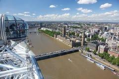 London-Auge Stockfotos