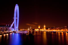 London-Auge Stockfotos
