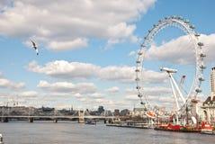 London-Auge. Lizenzfreies Stockfoto