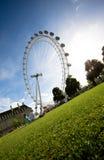 London-Auge Stockfotografie