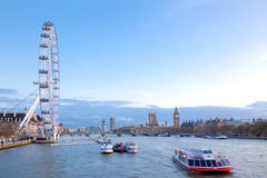 London-Auge England Lizenzfreie Stockfotografie