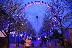 London-Auge, Jahrtausend-Rad Lizenzfreies Stockbild