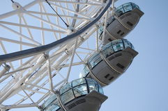 London-Auge in London lizenzfreie stockfotografie