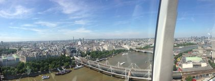 London-Auge in London Stockbild
