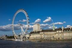 London-Auge in London Stockfotos