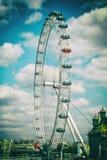 London-Auge in London lizenzfreies stockfoto