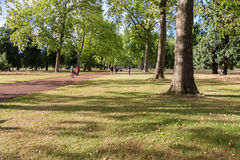 LONDON -AUGUST 10: Kensington Gardens on August 10, 2014  in Lon Stock Photos