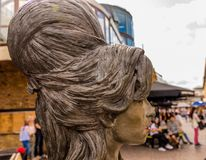 A typical view in Camden Market london royalty free stock photo