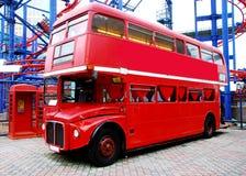 London autobus Obraz Royalty Free